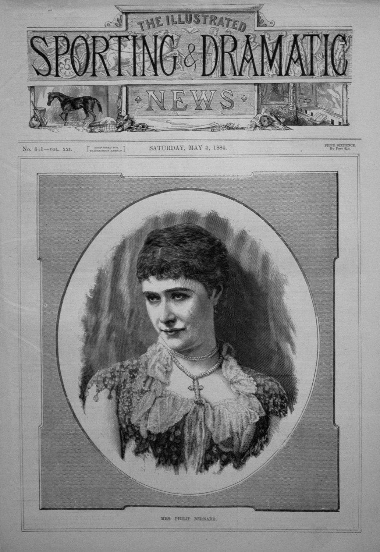 Mrs. Philip Bernard. 1884