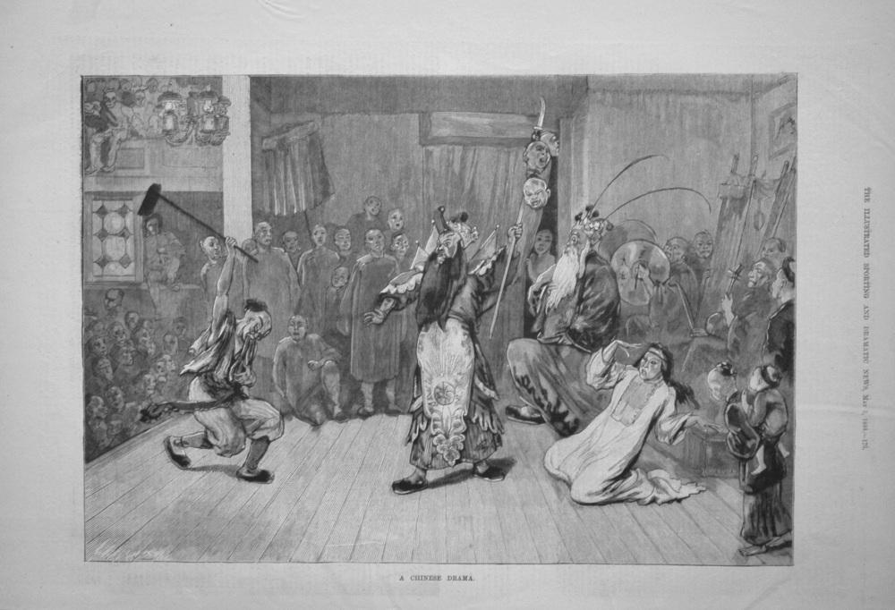 A Chinese Drama. 1884