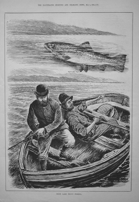 Irish Lake Trout Fishing. 1884