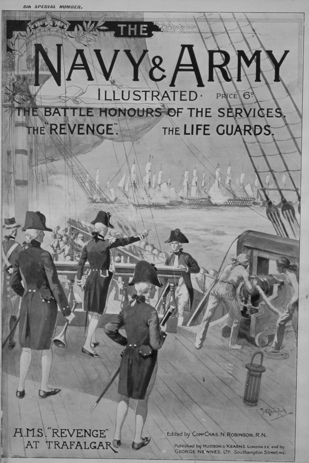Navy & Army Illustrated, October 30th 1896. (Special No.)