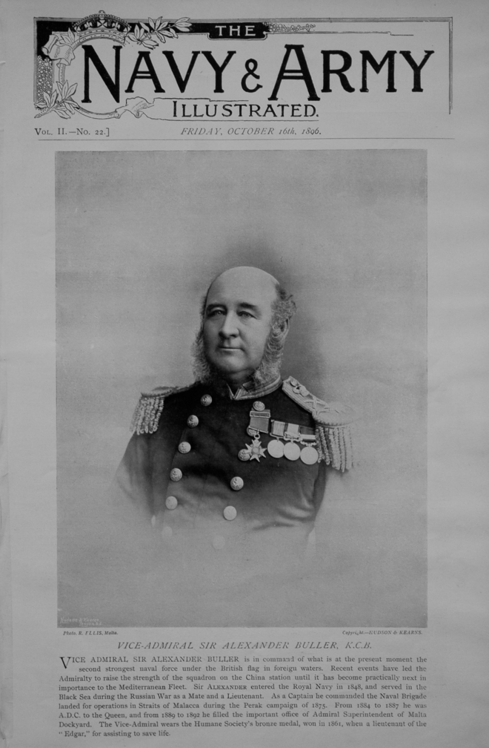Navy & Army Illustrated, October 16th 1896.