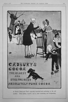 Cadbury's Cocoa. January 6th 1900.