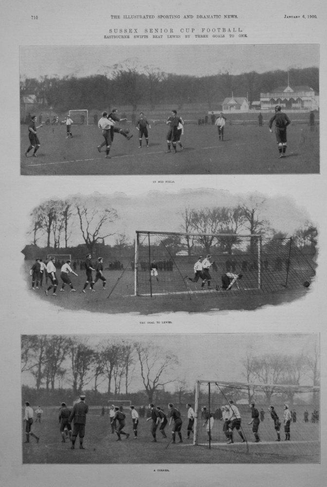 Sussex Senior Cup Football. 1900.
