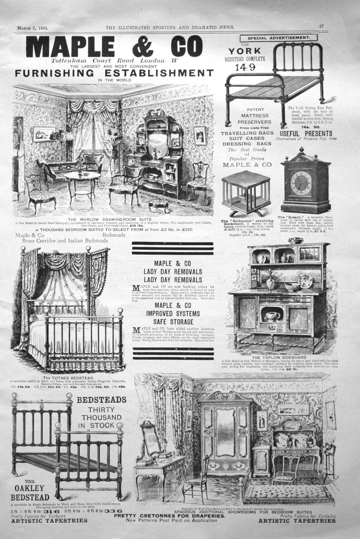 Maple & Co. 1896