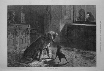 The Burglar's Scare. 1882