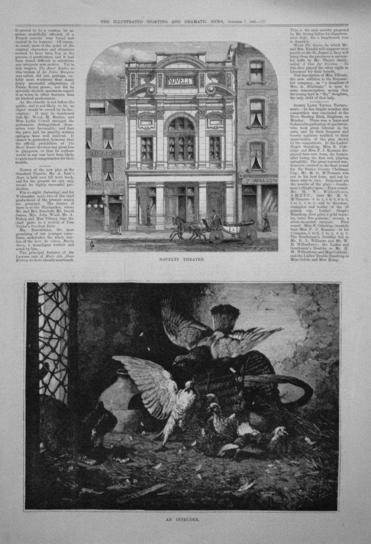 Novelty Theatre. 1882