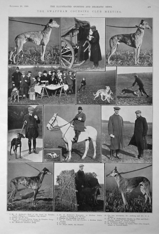 The Swaffham Coursing Club Meeting. 1909