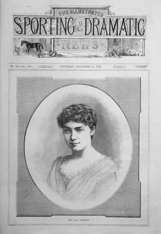 Miss Ella Lemmens. 1882