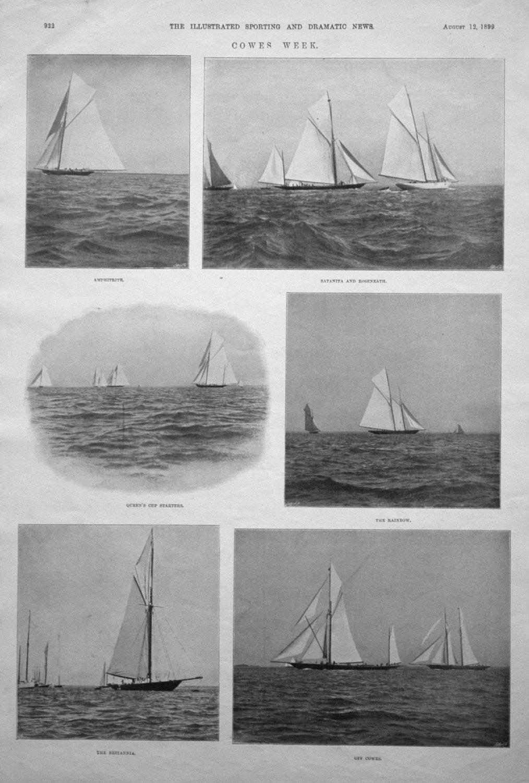 Cowes Week. 1899