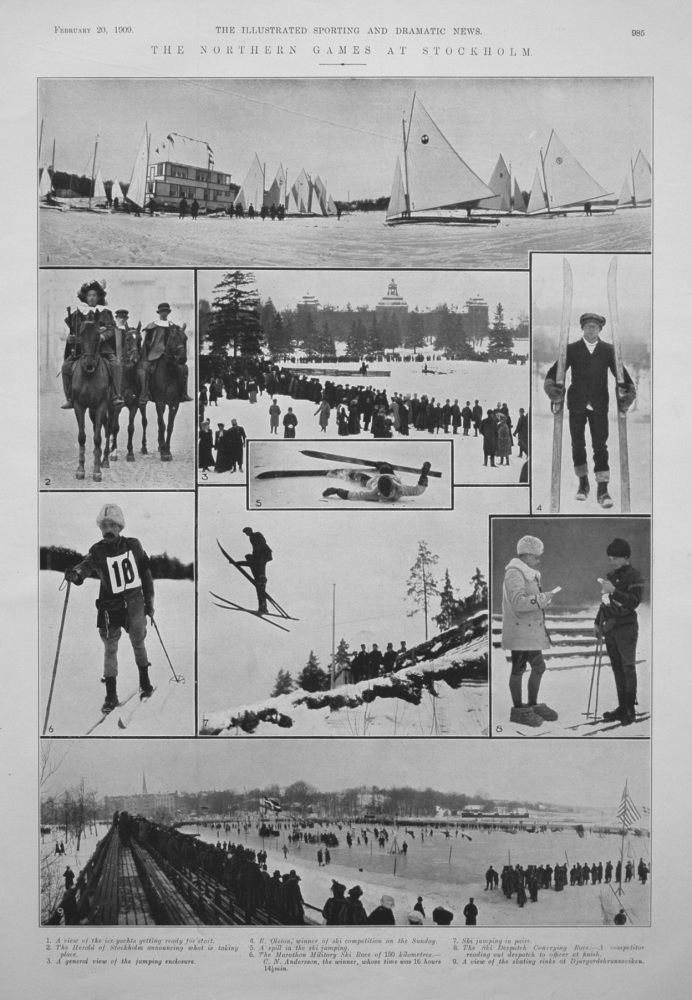 The Northern Games at Stockholm. 1909