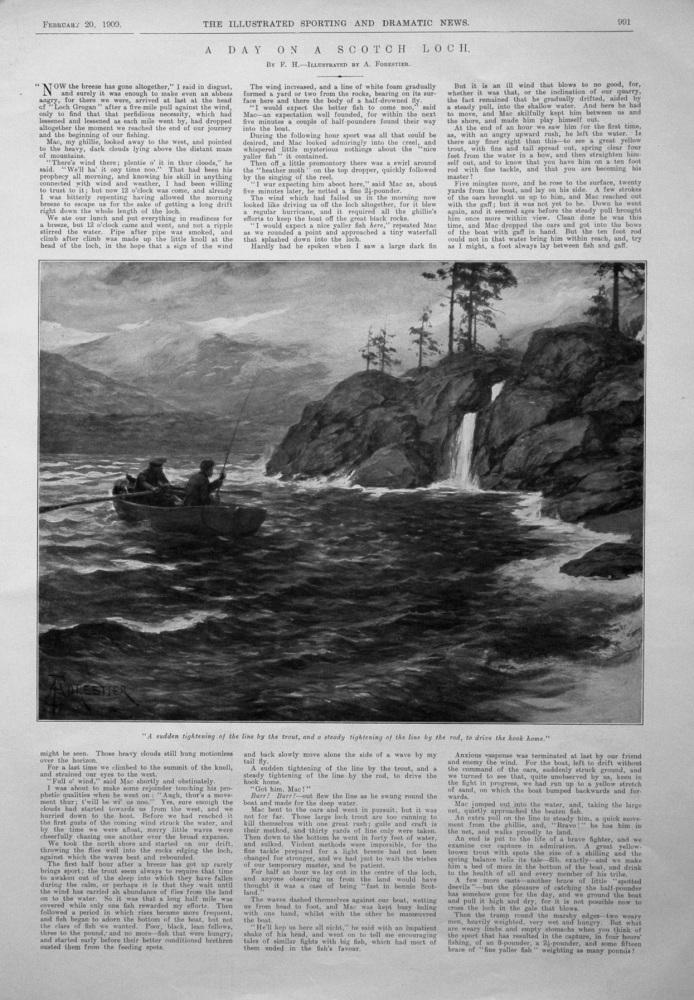 A Day on a Scotch Loch. 1909