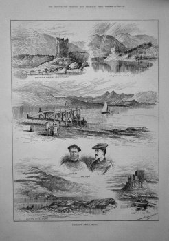Yachting about Mull. 1882