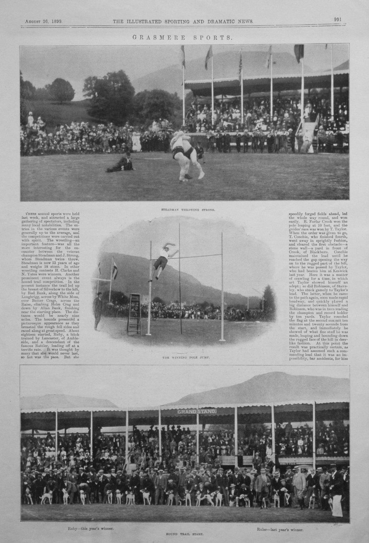 Grasmere Sports. 1899