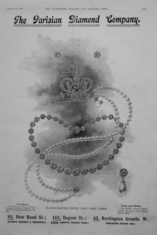 The Parisian Diamond Company. 1899.