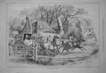 """""""An Interrupted Chase."""" 1882"""