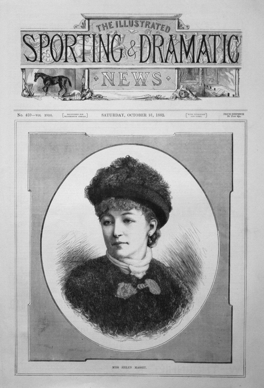 Miss Helen Massey. 1882