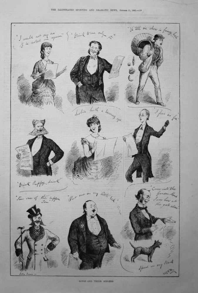Songs and Their Singers. 1882