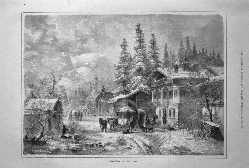 Coaching in the Tyrol. 1881