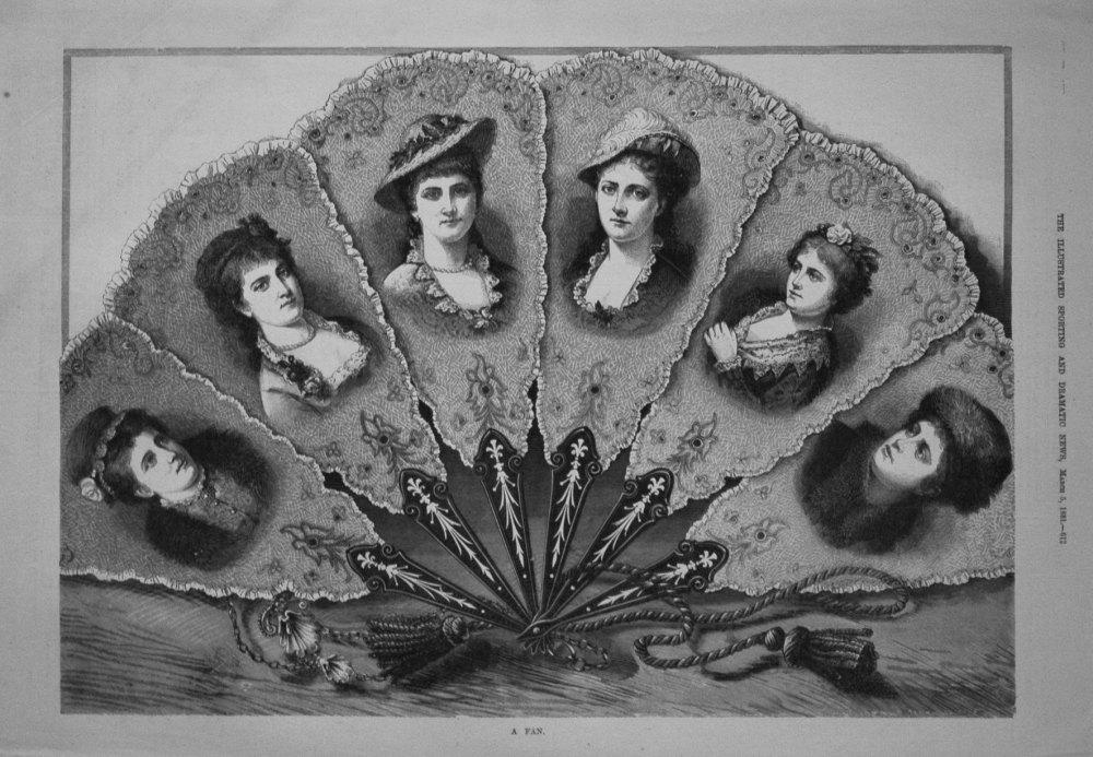 A Fan. 1881
