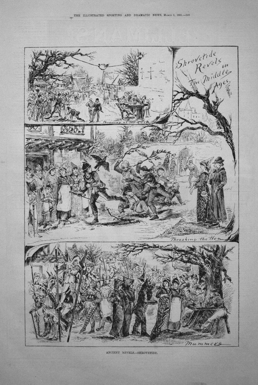 Ancient Revels. - Shrovetide. 1881