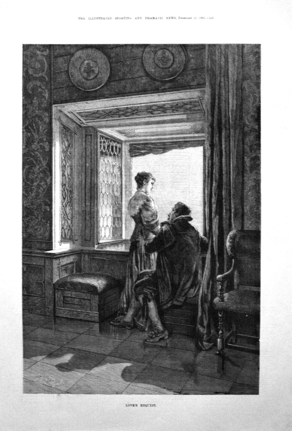 Love's Request. 1881
