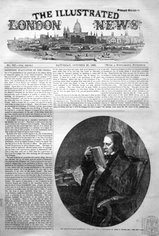 The Late Sir William Molesworth, Bart., M.P.
