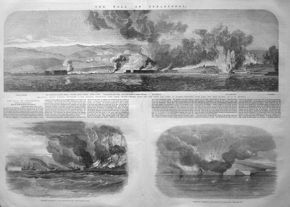 The Fall of Sebastopol. 1855