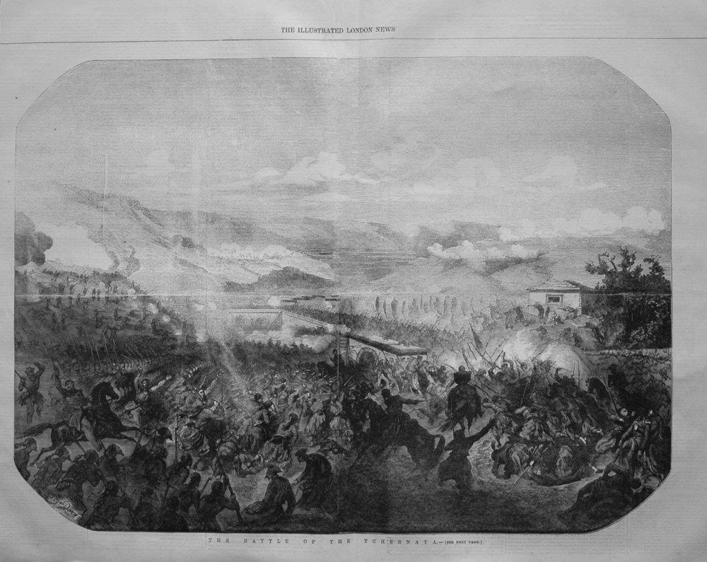 The Battle of the Tchernaya. 1855