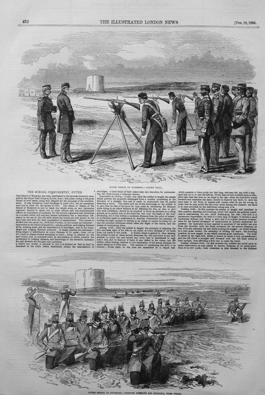Hythe School of Musketry. 1855