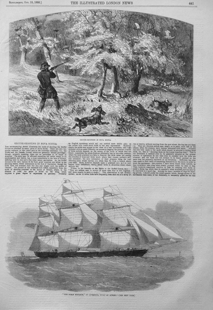 Grouse-Shooting in Nova Scotia. 1855