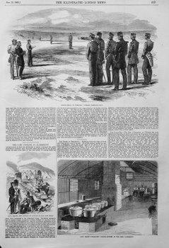 Captain Grant's Permanent Cooking-Kitchen at the Camp, Aldershot. 1855