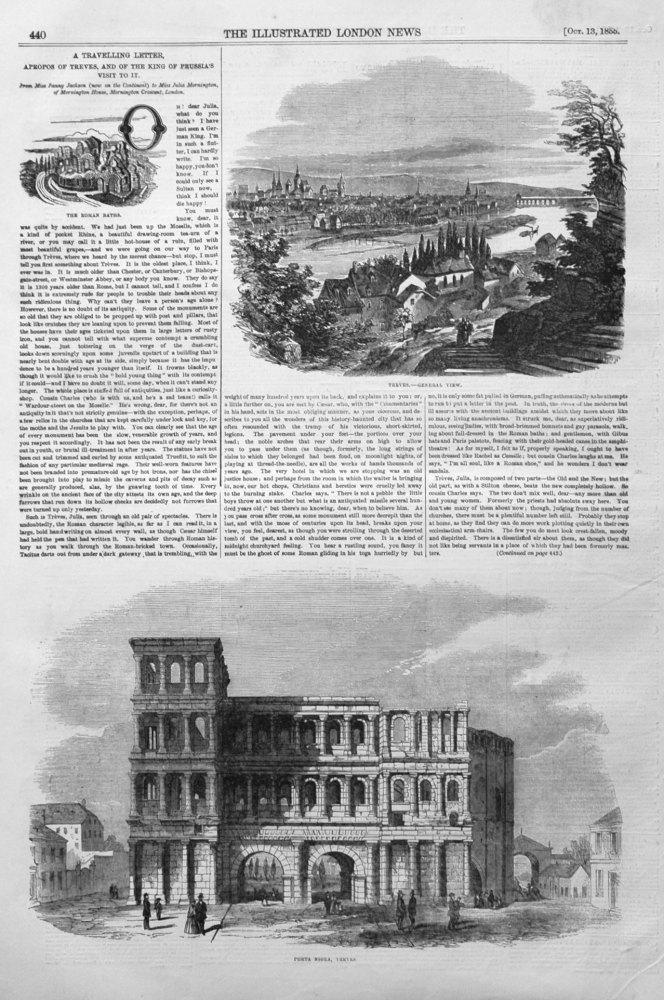 Porta Nigra, Treves. 1855