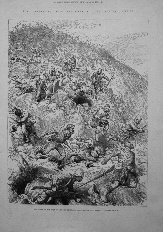 The Transvaal War. 1881.