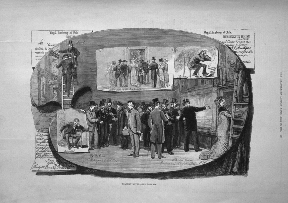 Academy Notes. 1851