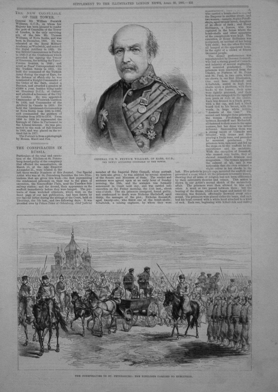 General Sir W. Fenwick Williams, of Kars, G.C.B.