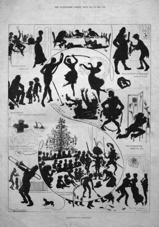 Shakspeare in Silhouette. 1882