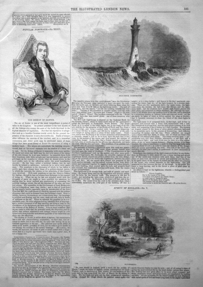 Bell-Rock Lighthouse. 1843