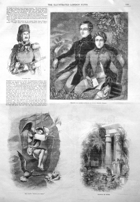 Princes of Baden.- Cousins to H.R.H. Prince Albert. 1843