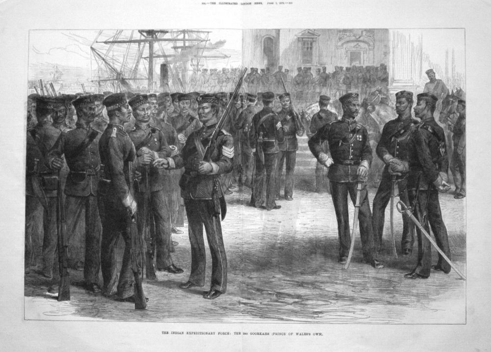 The Indian Expeditionary Force : The 2nd Goorkahs (Prince of Wales's Own).