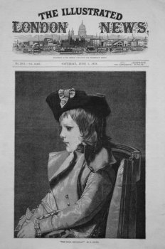 """""""The Young Republican."""" By M. Goupil. 1878"""
