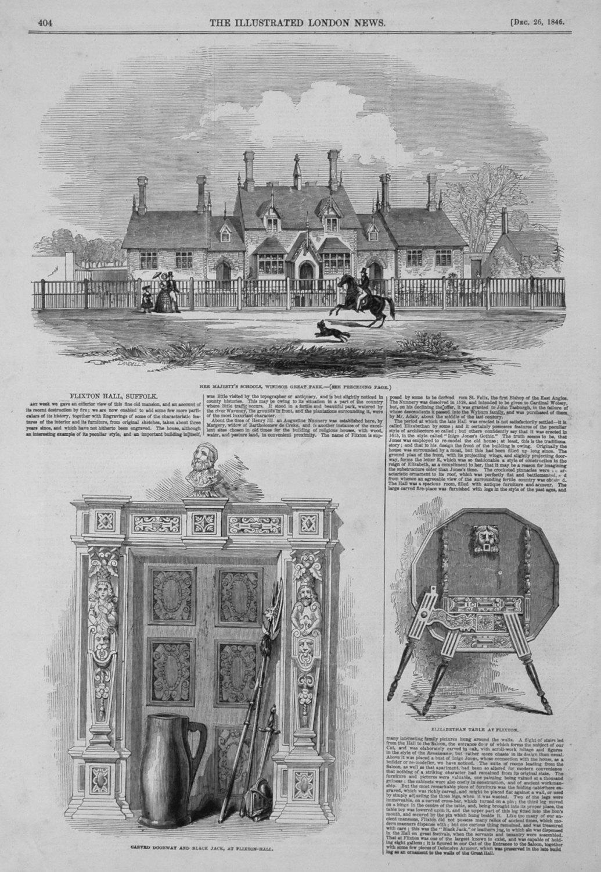 Her Majesty's Schools, Windsor Great Park. 1846