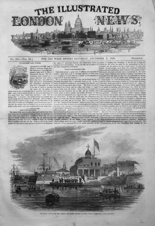 Illustrated London News December 5th 1846.