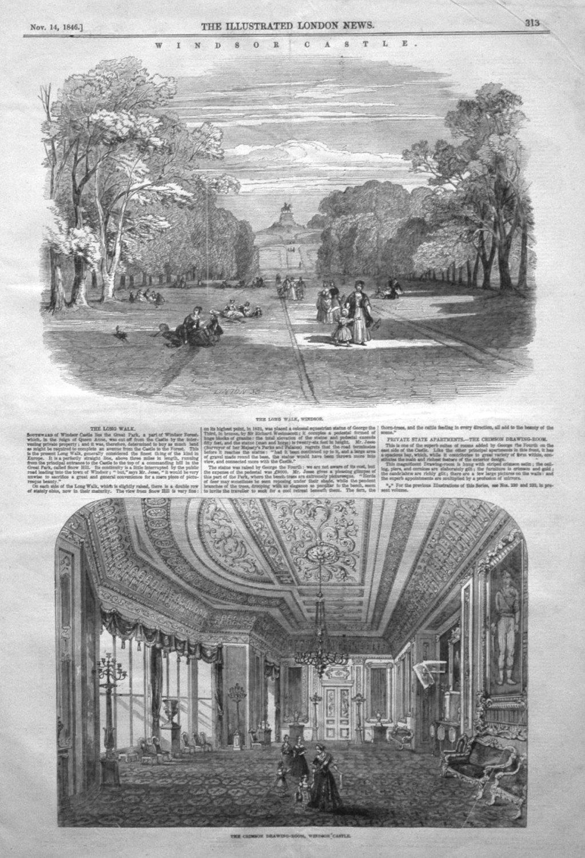Windsor Castle. 1846