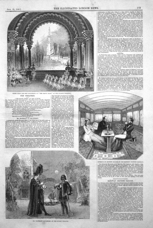 The Theatres. 1846