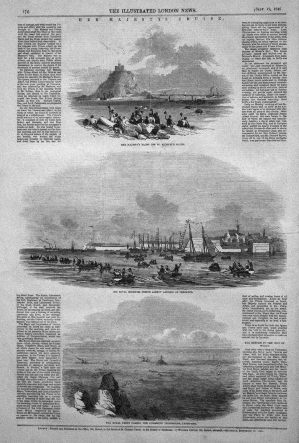 Her Majesty's Cruise. 1846