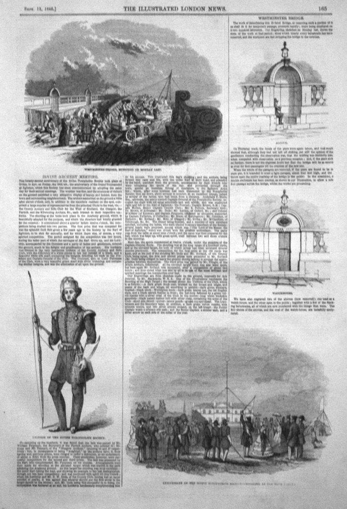Irvine Archery Meeting. 1846