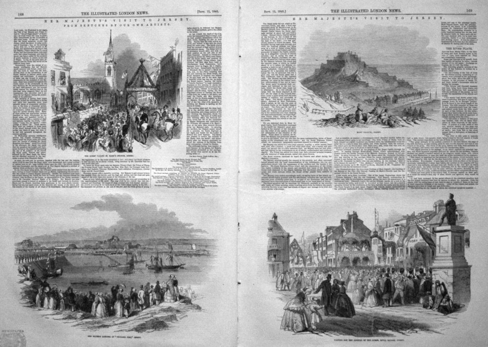 Her Majesty's Visit to Jersey. 1846