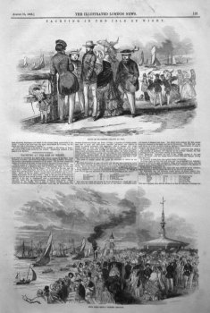 Yachting in the Isle of Wight. 1846
