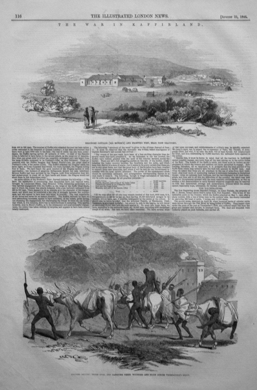 The War in Kaffir Land.