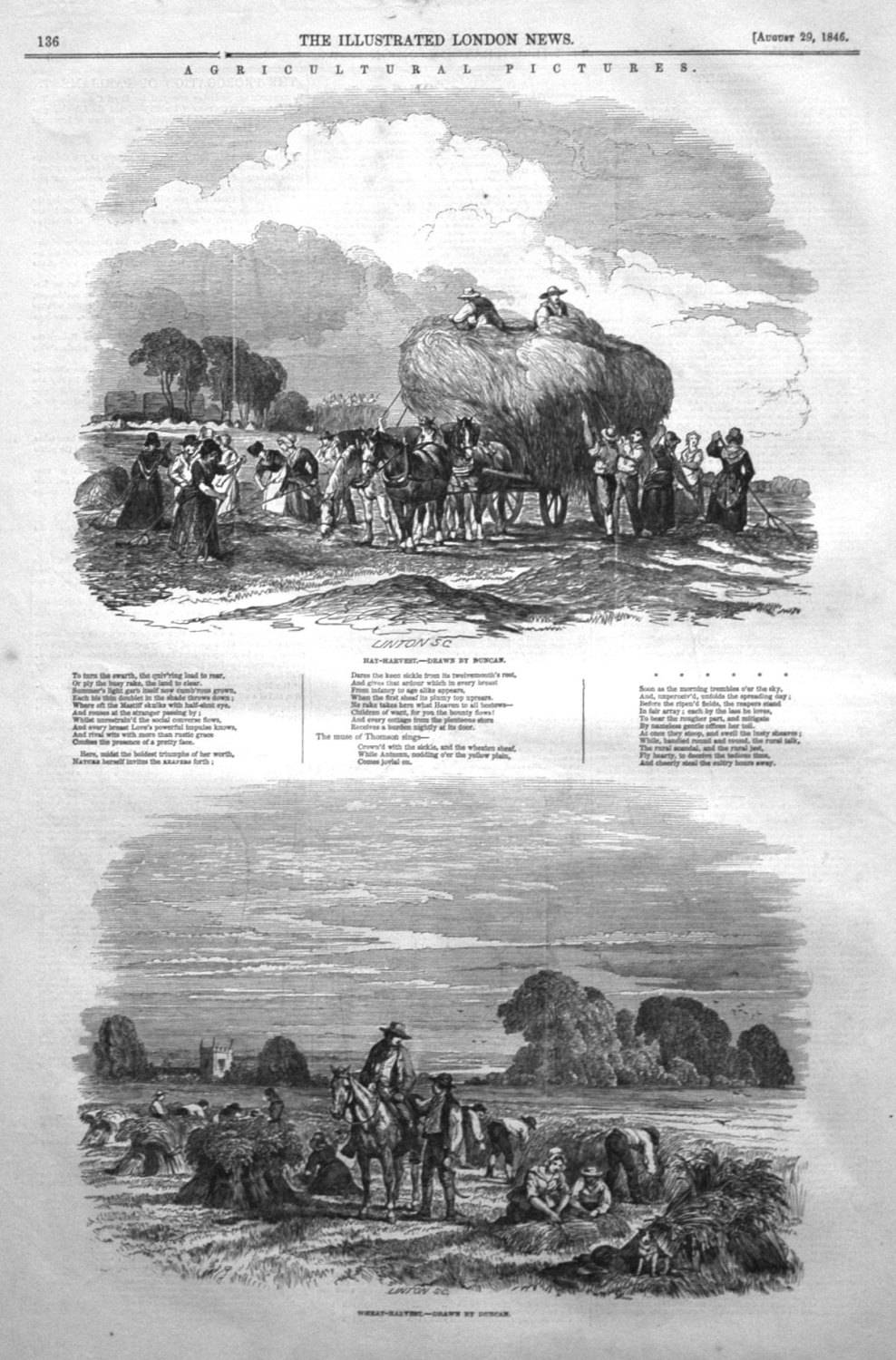 Agricultural Pictures. 1846